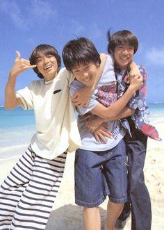 Jun x Nino x Aiba (Arashi)