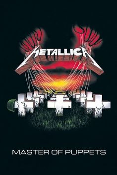 #Poster METALLICA - Master Of Puppets #metallica www.rockagogo.com