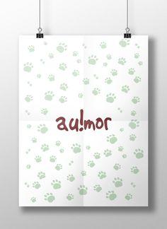 Au!mor - Para quem ama cachorros  ♥ | for anyone who loves dogs ♥  #design #dog #art