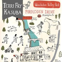 Mapmakers for Hire - They Draw & Travel - Terri Fry Kasuba Illustration Competitions, Valley Park, Trout Fishing, Illustrated Maps, Challenges, Around The Worlds, Travel, Illustrations, Drawing