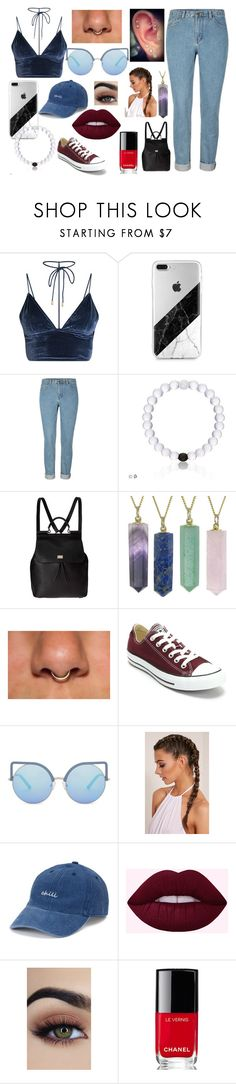 """""""Outfit"""" by jos6 on Polyvore featuring Dolce&Gabbana, Black Pearl, Converse, Matthew Williamson, SO and Chanel"""