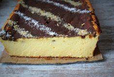 Sernik wiedeński bez spodu z prawdziwego sera Baking Recipes, Cake Recipes, Dessert Recipes, Cheesecakes, Tiramisu, Deserts, Low Carb, Yummy Food, Chocolate