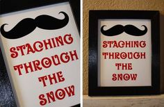 Staching Through The Snow Printable