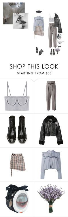 """break my heart, it's made of stone"" by eggtartt ❤ liked on Polyvore featuring 3.1 Phillip Lim, SKINN, Isa Arfen and Vetements"