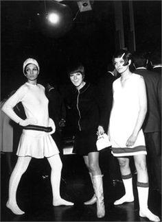 "Mary Quant, la ""inventora"" de la minifalda."