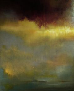 Saatchi Online Artist Maurice Sapiro; Painting, Raincloud Over Venice