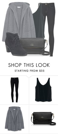 """""""Outfit #1145"""" by sofiaabaarona1998 on Polyvore featuring moda, Ström, MANGO, Chinti and Parker, Kate Spade y Clarks"""