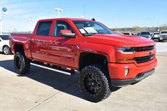 2016 Chevrolet Silverado 1500 Z71 lifted