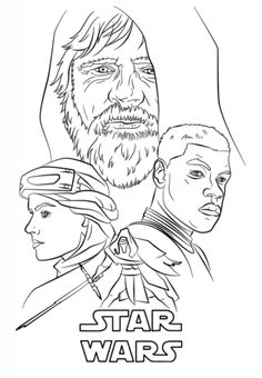 The Force Awakens Poster Coloring Page From Category Select 23049 Printable