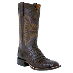 Lucchese Caiman Crocodile Boots on Sale