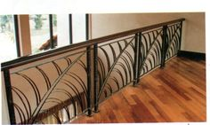 For the interior of your home we can create custom wrought iron railings, curtain rods, iron door grille, wrought iron console tables, baker racks, ...