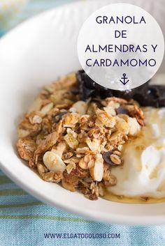 Almond Cardamom Home Made Granola from www.elgatogoloso.com