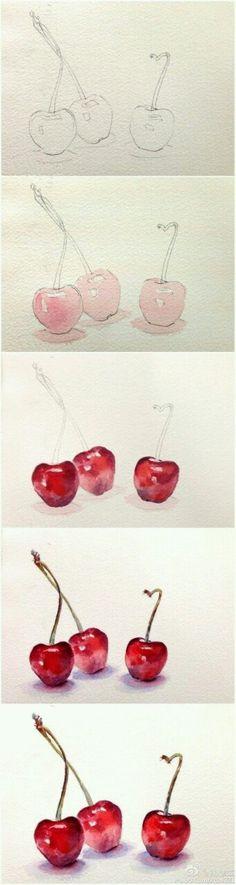 Tutos watercolor