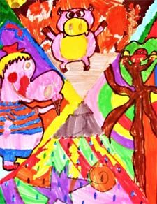 Daydreaming with Marc Chagall Lesson Plan: Art History for Kids - KinderArt