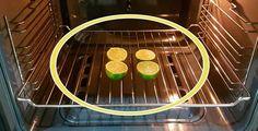 Il trucco dei limoni nel forno per depurare l'aria | Rimedio Naturale
