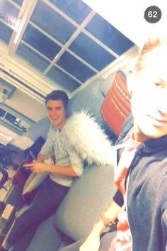 Connor and Ricky! Via: Ricky's snapchat