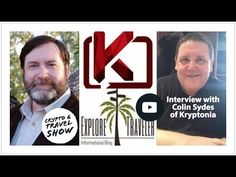 Today we discuss the ongoing development of the Kryptonia project, with Colin Sydes. We we discuss Kryptonia, Superior Coin, humanitarian use of crypto and A. Interview, Money, Digital, Projects, Movie Posters, Blog, Travel, Blue Prints, Viajes
