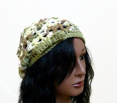 Piedmont Springtime  Beanie  Slouchy Hat in 100 Eco by Threadmill, $32.00