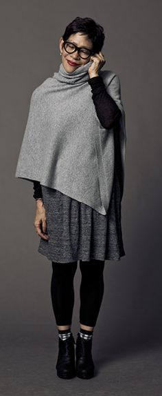 EILEENFISHER style if I had to define a look for me, this would be it... a little funky but stylish...