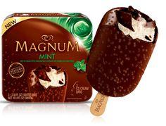 Magnum mint ice cream bar