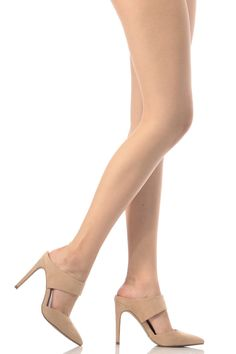 Nude Faux Faux Suede Pointed Toe Heels @ Cicihot Heel Shoes online store sales:Stiletto Heel Shoes,High Heel Pumps,Womens High Heel Shoes,Prom Shoes,Summer Shoes,Spring Shoes,Spool Heel,Womens Dress Shoes