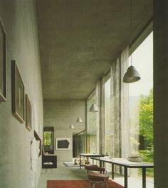 OpenHouse barcelona architectuur Peter Zumthor eigen huis Haldenstein Zwitserland 8