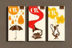 CbyB: Chocolates by Brigaderia #packaging