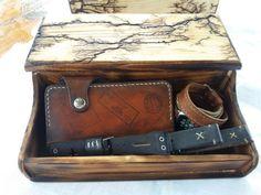 Lichtenberg Figures Watch box for men Organization Box by GORIANI