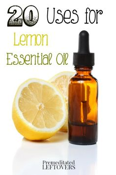 20 Frugal Uses for Lemon Essential Oil - Here are 20 ways you can use lemon essential oil including household hacks, cleaning tips, and in your beauty routine.
