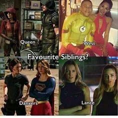 Danvers and West because the Flash and Supergirl are my fave shows sooo Superhero Tv Shows, Superhero Memes, Supergirl Dc, Supergirl And Flash, The Cw, Grant Gustin, Marvel Dc, Arrow Flash, Dc Comics