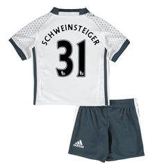 Manchester United Third Mini Kit 2016-17 with Schweinsteiger 31 printi: with Schweinsteiger 31… #ManUtdShop #MUFCShop #ManchesterUnitedShop