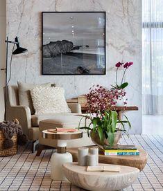 [New] The 10 Best Home Decor (with Pictures) - Um canto para leitura. Interior Exterior, Exterior Design, Patio Deck Designs, Coffee Shop Design, Decoration, Nook, Interior Decorating, Sweet Home, Dining Table