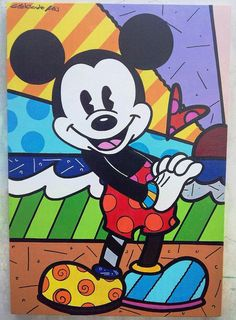 Mickey Mouse Classroom, Mickey Mouse Art, Mickey Mouse And Friends, Pop Art Disney, Arte Disney, Mickey Mouse Wallpaper Iphone, Disney Minimalist, Disney Quilt, Sad Art