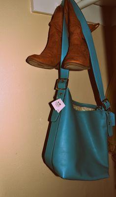 My new Coach purse :) it's a gorgeous color!