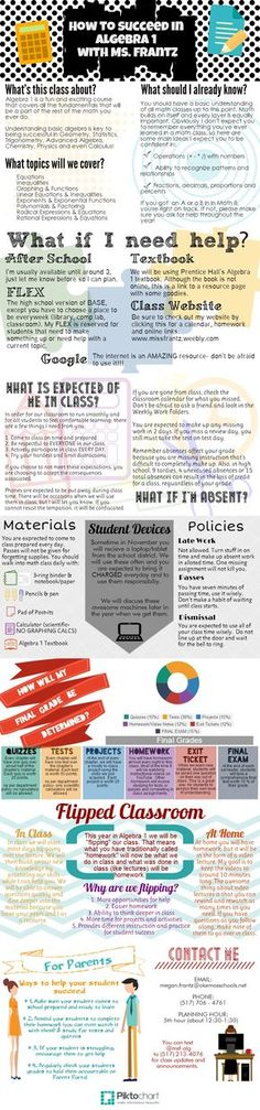This Free infographic template helps you visualise a class - syllabus template