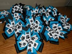 Bayside Bears Cheer Bows for Competition in 2012