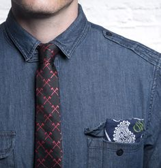 Artfully Disheveled- The Outlaw - Ties - Accessories