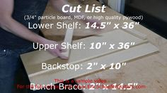 How to make a shooting board for for guitar making and lutherie, but also for general woodworking. Lesson Transcript: The shooting board is a jig used in con...