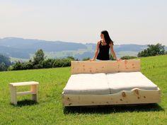 Bett Holzschlag
