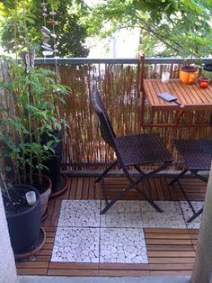 unser kleiner mini balkon tipps einrichten staufl che kleine balkone pinterest balkon. Black Bedroom Furniture Sets. Home Design Ideas