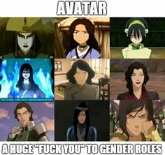 Yes yes it is and I love it. #ATLA #LOK #GirlPower