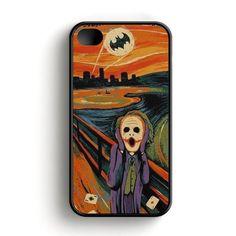 Scream Batman And Joker iPhone 4|4S Case