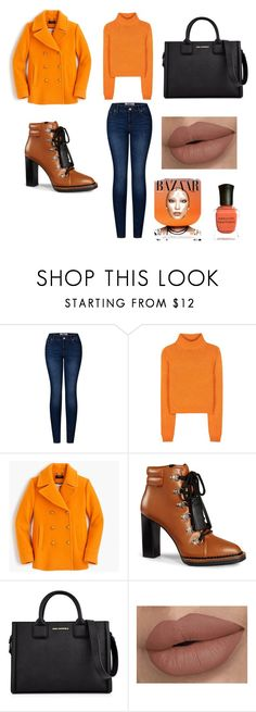 """""""Untitled #10"""" by amna-imsirovic ❤ liked on Polyvore featuring 2LUV, Acne Studios, J.Crew, Tod's, Karl Lagerfeld and Deborah Lippmann"""