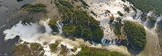 The Iguazu Falls, Argentina-Brazil, 2008 • AirPano.com • 360° Aerial Panorama • 3D Virtual Tours Around the World