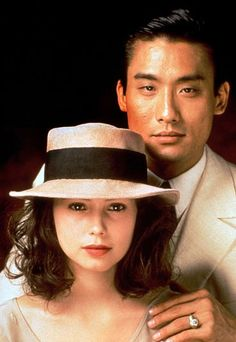 L'Amante (1992) Actress Jane March turned 18 shortly after filming began, Actor Tony Leung Ka Fei was a well known chinese actor at the time.  It did not get as much praise in america as it did abroad. It was directed by Jean-Jacques Annaud.  The book is captivating the movie is not quite as good and does focus on the passionate part of the relationship.  Still very great and worth seeing.