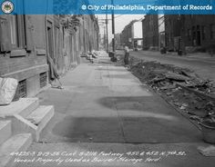 Contract S-2118 Footway 450 And 452 North 7th - http://ehood.us/2ftd6mM Contract S-2118 Footway 450 And 452 North 7th Street Vacant Property Used As Barrel Storage Yard.. The City of Philadelphia's photo archive contains approximately 2 million photographic records that date from the late 1800's. This web site has a subset of those photos. All archive photos may be searched by keyword and date. Archive photos which have been assigned a geographic location are als