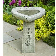 Decorate Your Garden with Concrete Bird Bath : Bird Bath Bowl Concrete.