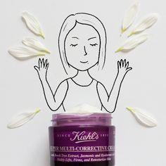 Kiehl's Super Multi Corrective Cream. Art by Javier Perez. #artfullymade