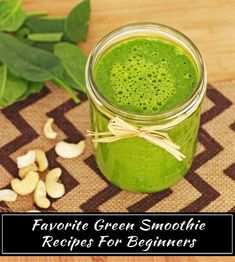 Green Smoothies For Beginners