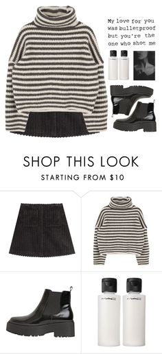 """"""" I breathe you in with smoke in the backyard lights. """" by centurythe ❤ liked on Polyvore featuring Isa Arfen, Jeffrey Campbell, MAC Cosmetics, women's clothing, women, female, woman, misses and juniors"""